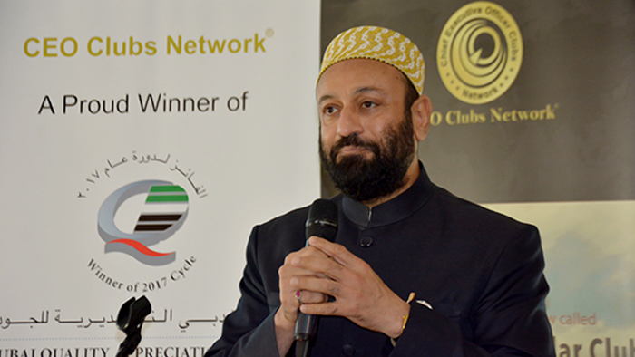 "CEO Clubs Monthly Lunch Meeting ""Building Communities"" on 1 October 2018 in Dubai, UAE"