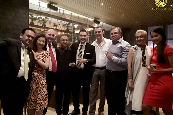 "2nd CEO Clubs Cigar Night"" – A networking event on 14 August 2018 in Wakame, Dubai, UAE"