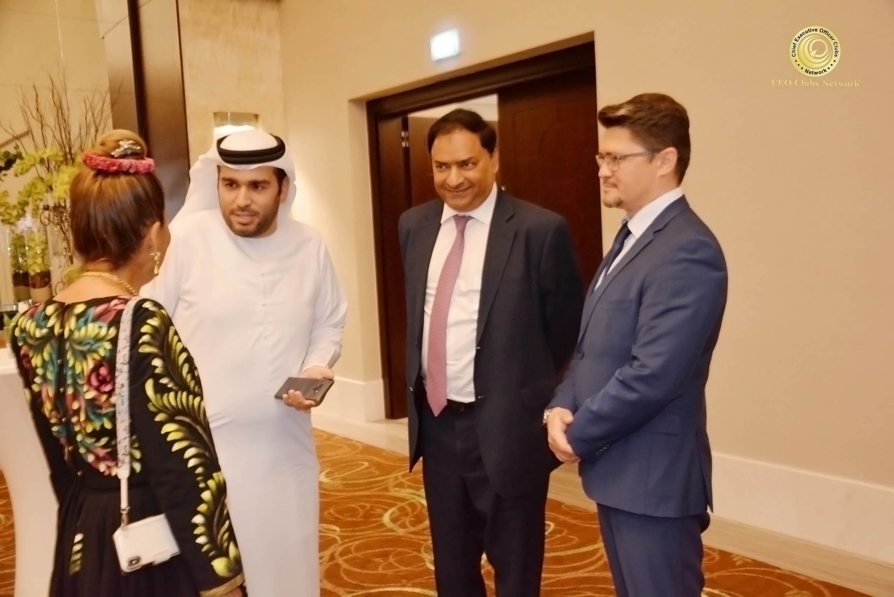 CEO Clubs Monthly Lunch Meeting A Successful 2019 through Innovative Strategies and Partnership on 6 February 2019 in Dubai UAE