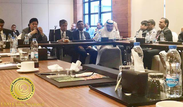 CEO Clubs Network delegation had an exclusive meeting with Dr. AK Abdul Momen, Foreign Minister of Bangladesh on 2 March 2019 in Dubai