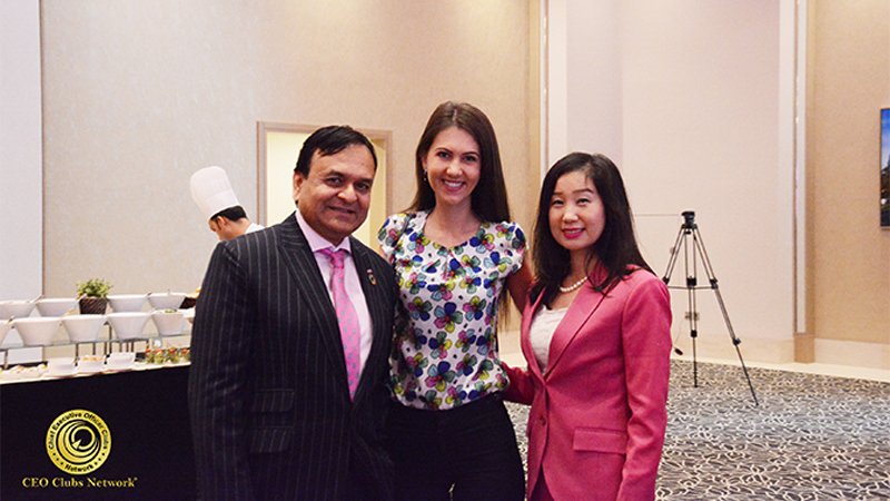 CEO Clubs Network Monthly Lunch Meeting Celebrated the International Women's Day