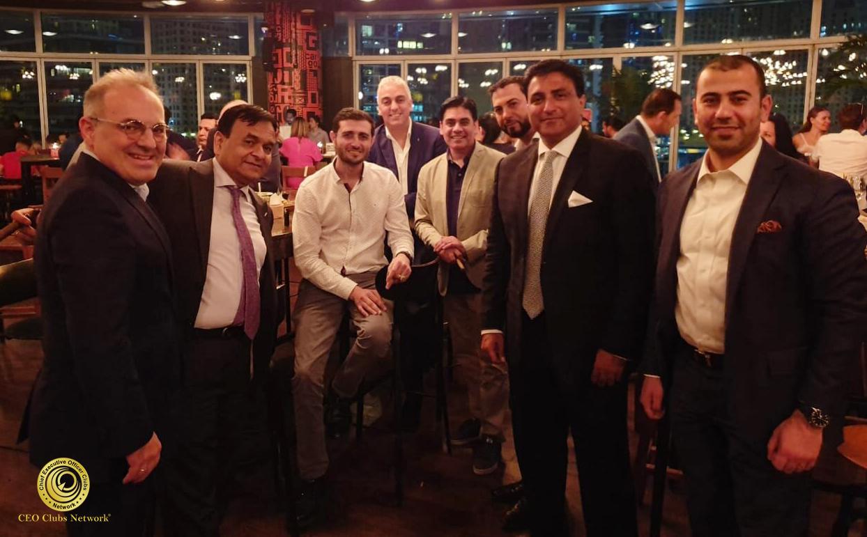 The 6th CEO Clubs Cigar Night at Cargo Dubai | Pier 7, Dubai UAE on July 1, 2019