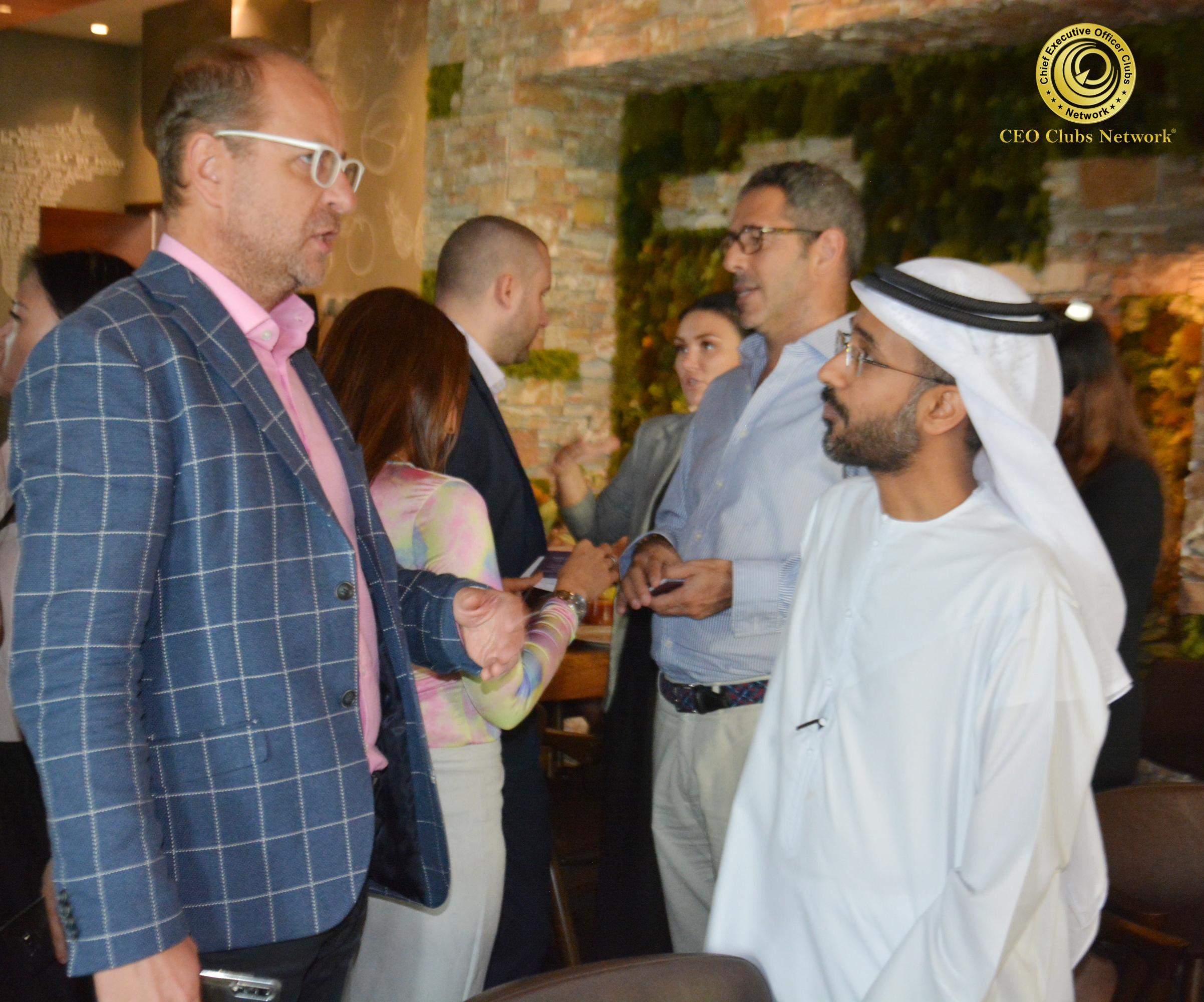 CEO Clubs Hi Tea Event